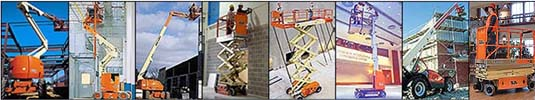 Scissor Lift, Electric and Rough Terrain