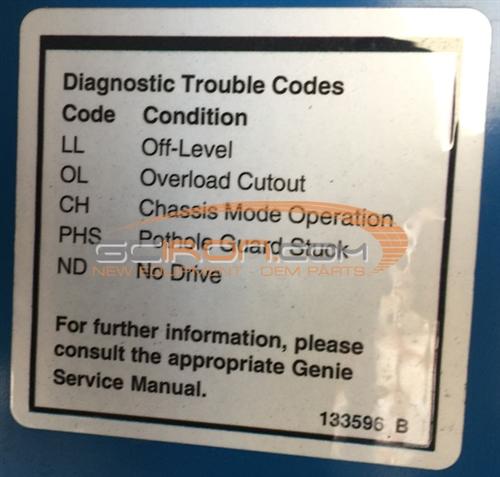 Unique Genie Scissor Lift Error Codes