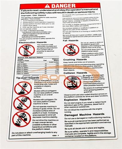 Construction Equipment Parts: JLG Parts from www GCIron com